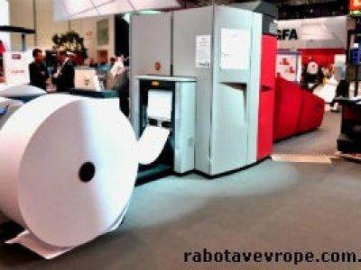 Работа в Польше на производстве бумаги