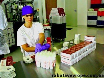 Работа в Польше упаковка косметики