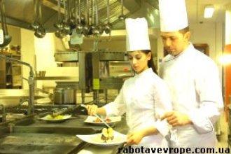 Работа в Польше помощницей на кухне