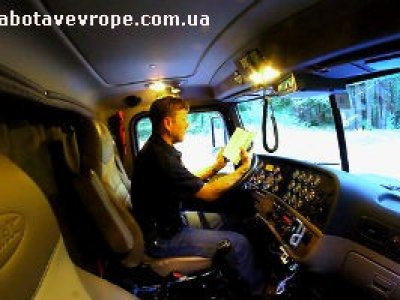 Работа в Европе водителем международником
