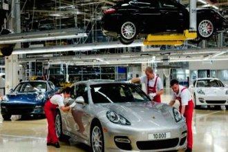 Работа в Чехии на заводе Порше