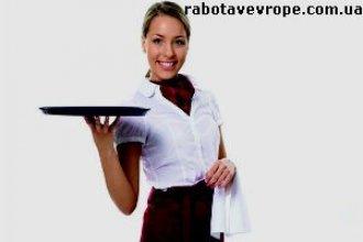 Работа в Чехии официанткой