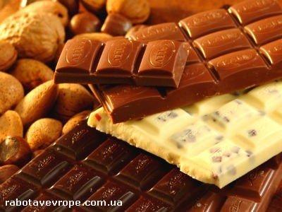 Работа на шоколадной фабрике в Германии