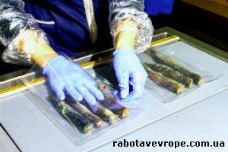 Работа в Норвегии на упаковке рыбы