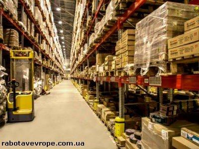 Работа в Словакии на складе