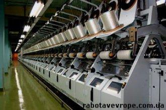 Работа в Чехии на производстве нитей