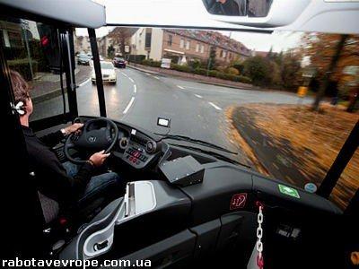 Работа в Чехии водителем автобуса