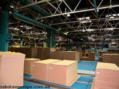 Работа в Германии на картонной фабрике