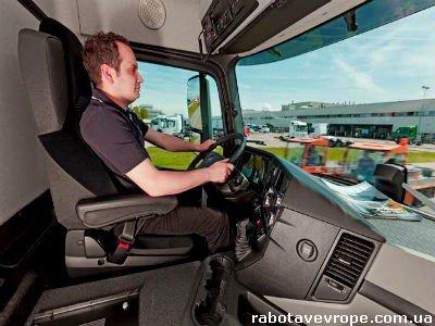 Работа в Германии водителем категории С