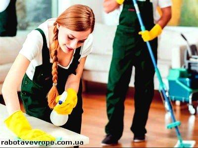 Работа в Израиле на уборке помещений