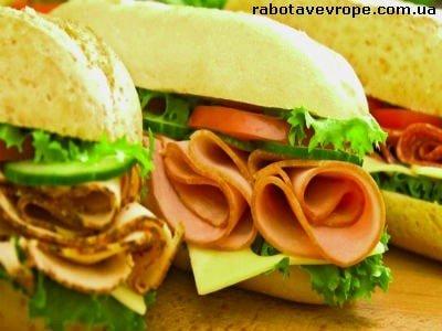 Работа в Польше на производстве бутербродов
