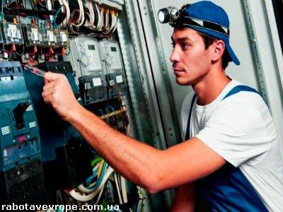 Работа в Швейцарии электриком