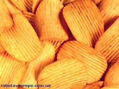 Работа в Бельгии на производстве чипсов