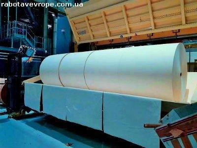 Работа в Чехии на бумажном производстве