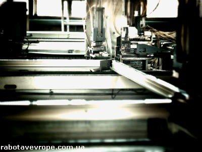 Работа в Чехии на производстве окон