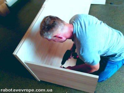 Работа в Германии на сборке мебели
