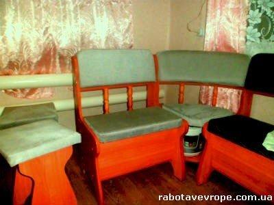 Работа в Словакии обивщиком мебели
