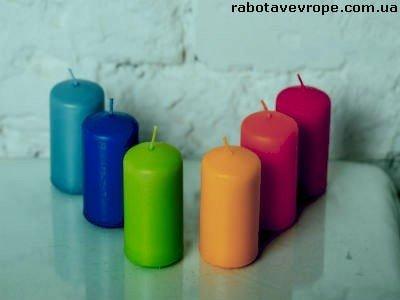 Работа в Венгрии на производстве свечей