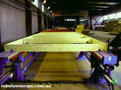 Работа в Чехии на изготовлении финских домиков