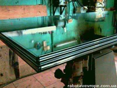 Работа в Чехии на изготовлении стекла