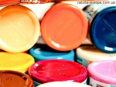Работа в Чехии на складе лаков и красок