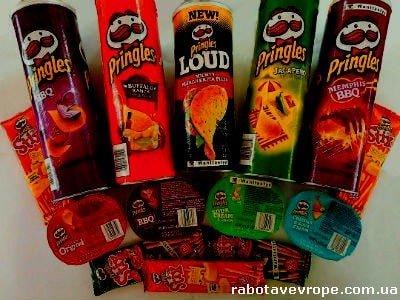 Работа в Чехии на складе Pringles