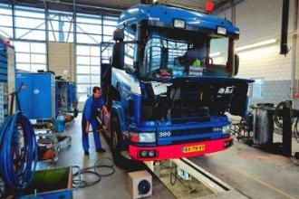 Работа в Германии механиком грузовых авто
