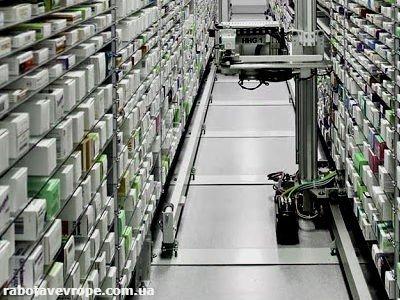 Работа в Германии на упаковке медикаментов