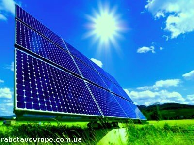Работа в Голландии на монтаже солнечных панелей