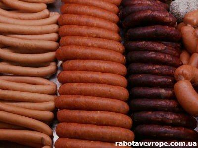 Работа в Польше на производстве сосисок