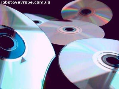 Работа в Польше на упаковке CD-дисков