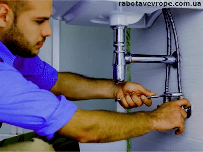 Работа в Словакии сантехником