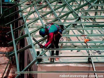 Работа во Франции на сборе металлоконструкций