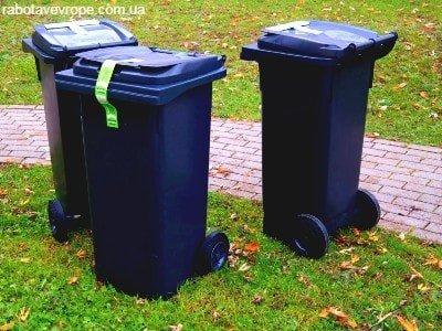 Работа в Чехии на погрузке мусорных баков