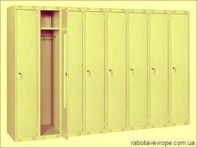 Работа в Словакии на производстве металлических шкафчиков